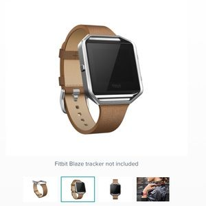 Fitbit Blaze Leather Band